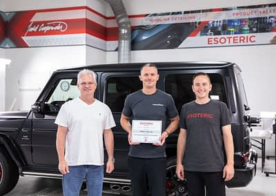 Paint Protection Film Training Course at ESOTERIC